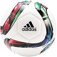 Adidas Conext 15 Glider Balón de fútbol, Unisex, Blanco/Verde / Rojo/Negro, 5