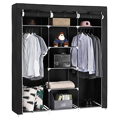 20% Absales Fancy And Portable Foldable Closet Wardrobe Cabinet Portable  Multipurpose Clothes