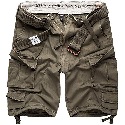 DELTA Division Herren Cargo Shorts, Oliv, S