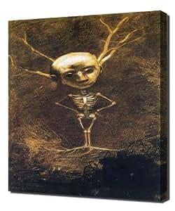Odilon Redon - Spirit Of The Forest 1890 - Reproduction d'art sur toile
