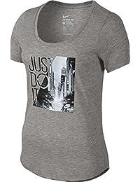 Nike - Camiseta manga larga equipación - 776838-011 - nike tee-scoop photo jdi - mujer - l