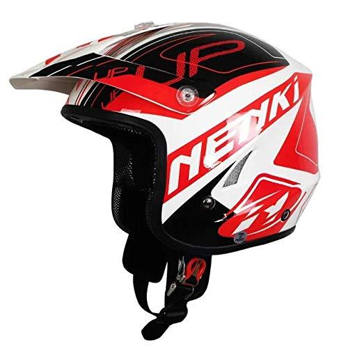 606 Casco da downhill per motocross Casco per moto estremo fuoristrada Head Head Library 4 XXL