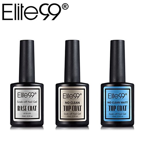 Elite99 Top coat Base Coat Semipermanente Top Coat