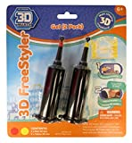 3D Maker – 3D Freestyler – Recharge 2 Tubes – Rouge & Jaune