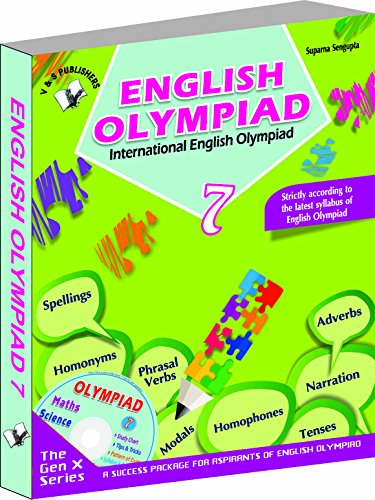 English Olympiad Books for Class 6 | English Olympiad Reference