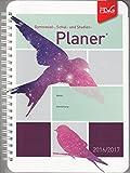 Gymnasial-, Schul- und Studienplaner 2016/2017 - Lila - Vögel - FLVG: Der Kalender für Schule, Ausbildung und Studium - Gymnasialplaner - Schulplaner - Schülerkalender - Spiralbindung