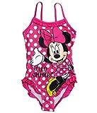 Minnie Mouse Badeanzug Kollektion 2017 Badesachen 92 98 104 110 116 122 128 Schwimmbekleidung Sommer Rot (104 - 110, Rot)