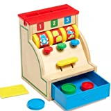 Melissa and Doug–Hundespielzeug Activity 1. Alter Registrierkasse Holzteilen aus Holz Spiel Krabbeldecke Kinder