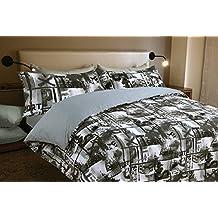 Funda nórdica estampada YES (Para cama de 90x190/200 (Nórdico de 150))