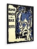 weewado Wassily Kandinsky - el Jinete Azul - 1911-60x80 cm - Impresiones Sobre Lienzo - Muro de Arte - Old Masters/Museum