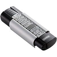 Sommer S10212-00001 Telecody+ Handsender 868,95 MHz 12-Befehl, Schwarz/Silber