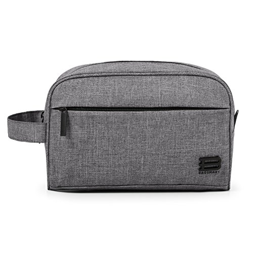 bagsmart-toiletry-travel-bag-dopp-kit-for-men-and-womengrey