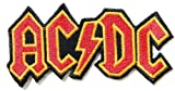 10,2 x 5,1 cm AC/DC ACDC Heavy Metal Rock Punk Music Band Logo Polo T Shirt Patch Sew Eisen auf bestickt oder