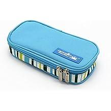 Bolsa diabética ONEGenug Enfriador de insulina Bolsa Bolsa de jeringas para la diabetes, insulina y medicamentos 20x4x9cm (azul claro)