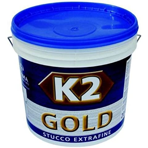 Stucco in Pasta Extra Fine K2 Gold 20 Kg specifico per Interni - Stucco Fine