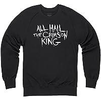 Official The Dark Tower All Hail The Crimson King Sudadera de cuello redondo, Para hombre