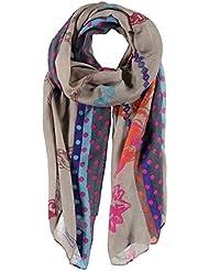 Echarpe pour Femme Laurina Passigatti echarpe de grande taille echarpe pour l´hiver