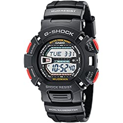 Black MudMan G-Shock Resin Strap Digital