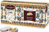 1 Kg Gangemi Confetti - Weichen Hochzeitsmandeln Geschmack Tiramisu Klassische Italienische Hochzeit Gastgeschenke - Weiß - (ca. 180 Stück)
