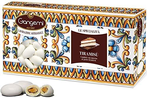 Gangemi le specialità - confetti morbidi al tiramisu' con mandorla - 1000 g
