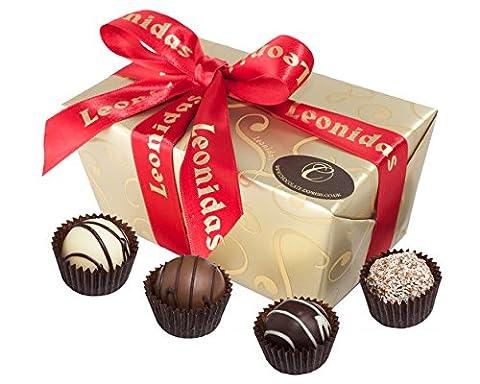 Chocolate Truffles Gift Box, Leonidas Belgian Chocolates: 28 Assorted Luxury