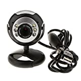 Magideal 30M 6 LED USB Webcams Camera We...