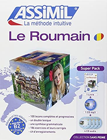 Le Roumain (Livre+ 4 CD audio + 1CD
