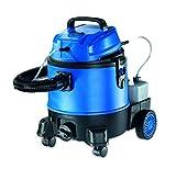 cleanmaxx 09707 Nass-Trockensauger, blau | 1250 W | Bodenreinigung | Haushaltsreinigung | Teppichreinigung