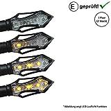 LED Blinker kompatibel mit Honda VT 750 C Black Widow, X4 / VT 600 C Shadow (E-Geprüft / 2Stück) (B17)