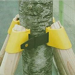 INOVEY Gartenarbeit Tpr Obst Baum Fixierung Unterstützung Werkzeug Pflanze Windbreak Schutz Bindungs Halter Kit - 60Mm