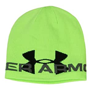 Under Armour CG Infrared Billboard Bonnet homme Hyper Green/Graphite//Black FR : Taille unique (Taille Fabricant : TU)
