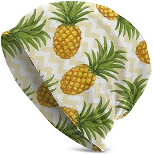 SVDziAeo Pineapple Soft Slouchy Beanie Hats Daily Long Baggy Skull Cap - Men & Women one 31838