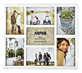 Best Collage Photo Frames - Arpan Multi Aperture Photo Collage Frame for 7 Review