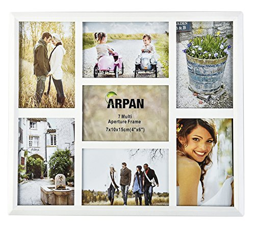 arpan-multi-aperture-photo-collage-frame-for-7-photos-3-x-6-x-4-and-4-x-4-x-6-photos-white