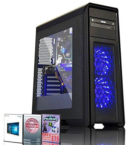 Deals For ADMI GAMING PC: Intel Core I7 7700 3.6Ghz Quad Core CPU / GeForce GTX 1060 6GB GDDR5 Graphics Card / 16GB 2400MHz DDR4 RAM / 1TB HDD / 500W PSU / Game Max Falcon Case / Windows 10 Reviews
