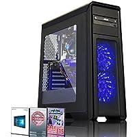 ADMI GAMING PC: Intel Core I7 7700 3.6Ghz Quad Core CPU / GeForce GTX 1060 6GB GDDR5 Graphics Card / 16GB 2400MHz DDR4 RAM / 1TB HDD / 500W PSU / Game Max Falcon Case / Windows 10