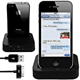 iphone 4g desktop charger cradle dock for iphone 4 4g, 3g, 3gs, 4s, iphone 4 4g, 3g, 3gs, 4s, ipod touch docking station, PLUS Free USB Data Cable