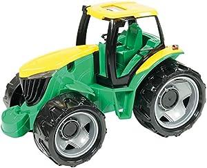 Lena GIGA Trucks Tractor vehículo de Juguete - Vehículos de Juguete (Negro, Verde, Amarillo, Tractor, De plástico, Interior / Exterior, 3 año(s), Niño)