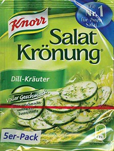 Knorr Salatkrönung Dill-Kräuter, 15er Pack (15 x 450 ml Karton)