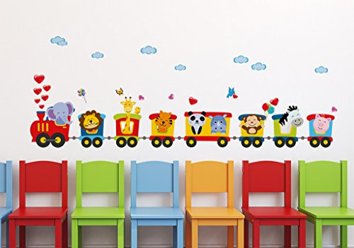 Decals Design 'Train of Joy with All Animals in it and Love'...