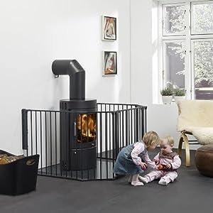 BabyDan Configure Gate Extra Large Black   10