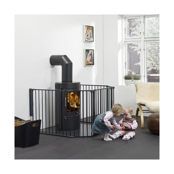 BabyDan Configure Gate Extra Large Black  Includes 1x 72cm Gate Panel, 2x 33cm Panels, 2x 72cm Panels and Wall Mounting Kit Multiple purposes: Can be used as a safety gate, hearth gate, room divider or play pen Flexible and easy to fit. One handed operation. Two way opening 1