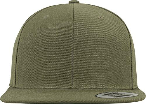 Flexfit Classic Snapback Cap, Mütze Unisex Kappe für Damen und Herren, One Size, Farbe buck -