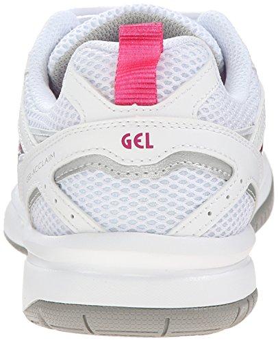 ASICS Frauen Sportschuhe White/Charcoal/Pink