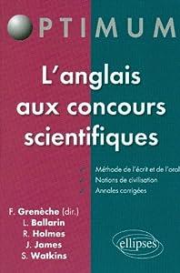 """Afficher """"L'anglais aux concours scientifiques"""""""