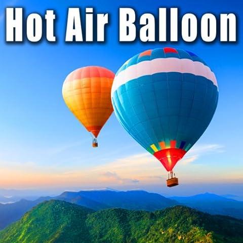 Hot Air Balloon Propane Burner Igniting (Air Burner)