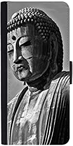 Snoogg Buddha Statue Designer Protective Flip Case Cover For Apple Iphone 6 Plus