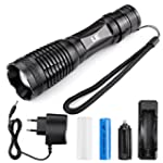 LE 10W rechargeable et Zoomable CREE...