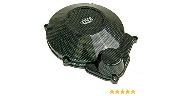 TNT Cover Alternator Minarelli AM in carbon for GENERIC Trigger SM 50 AM6