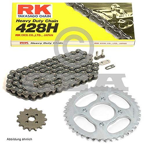 Kettensatz Yamaha WR 125 R, X 09-17, Kette RK 428 H 134, offen, 14/53 -